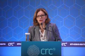 """Ευαγγελία Κοράκη, Πρόεδρος HACRO (Ελληνικού Συλλόγου των CRO's), Πρόεδρος & Διευθύνουσα Σύμβουλος εταιρίας """"Coronis Research ΑΕ"""""""